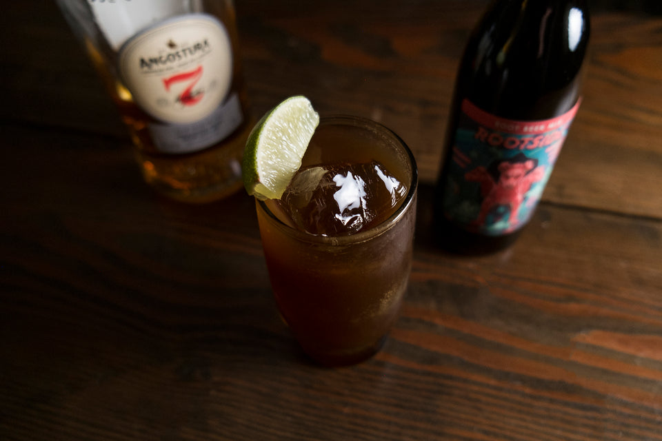 Rum & Root Beer Recipe - Rums long lost highball companion