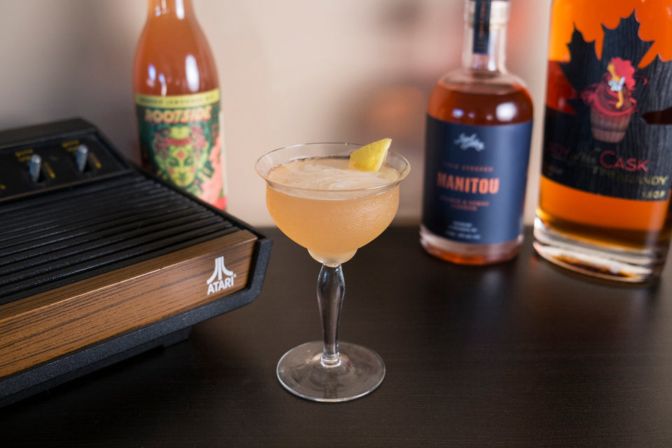 Sidecar Cocktail - We love Brandy and really really love this drink