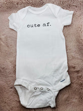 Load image into Gallery viewer, Cute AF Franc It Baby Onesie