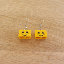 Load image into Gallery viewer, Classic smile brick earrings