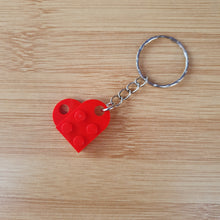Load image into Gallery viewer, Heart keyrings