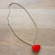 Load image into Gallery viewer, Heart necklaces