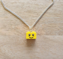 Load image into Gallery viewer, Classic smile brick necklace