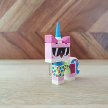 "Load image into Gallery viewer, ""Unikitty"" Shades brooch / pin"