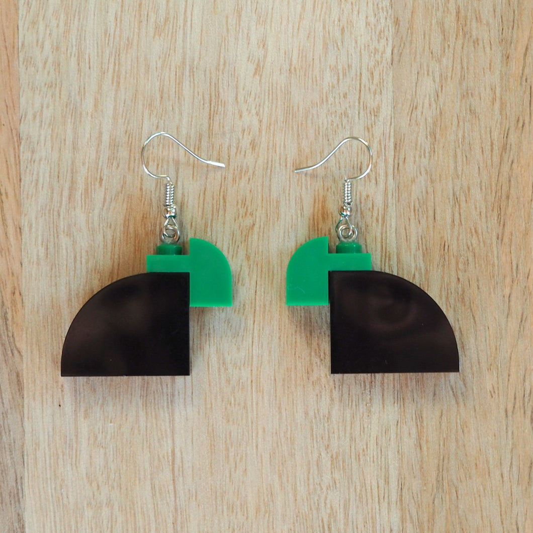 Curved Duo - Black & Green