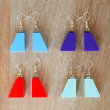 Load image into Gallery viewer, Slope Brick Earrings