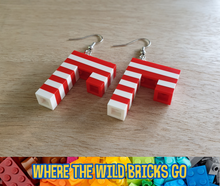 Load image into Gallery viewer, Candy Cane earrings