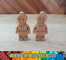 Load image into Gallery viewer, Gingerbread Man earrings