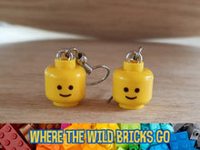 Load image into Gallery viewer, Classic smile head earrings