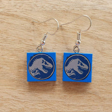 Load image into Gallery viewer, Jurassic World Tyrannosaurus Rex earrings