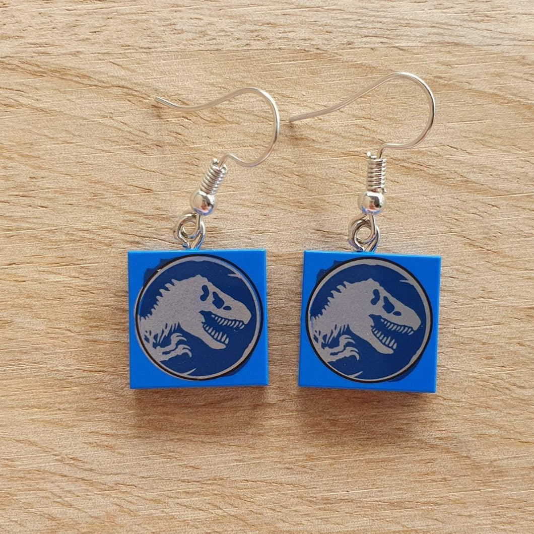 Jurassic World Tyrannosaurus Rex earrings