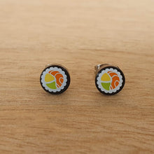 Load image into Gallery viewer, Sushi stud earrings