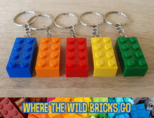 Load image into Gallery viewer, Brick keyring