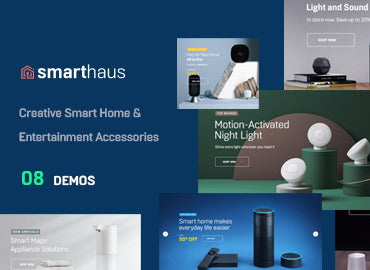 Leo Smarthaus - Smart Devices & Entertainment Prestashop Theme
