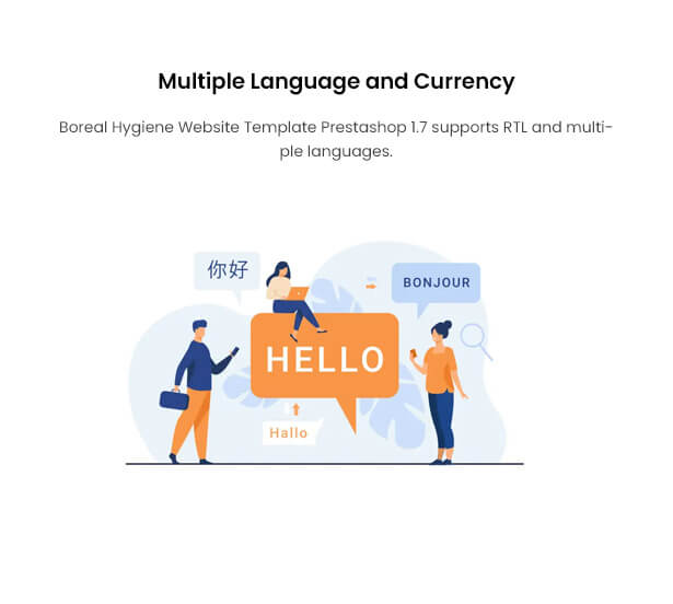 Multiple Language and Currency