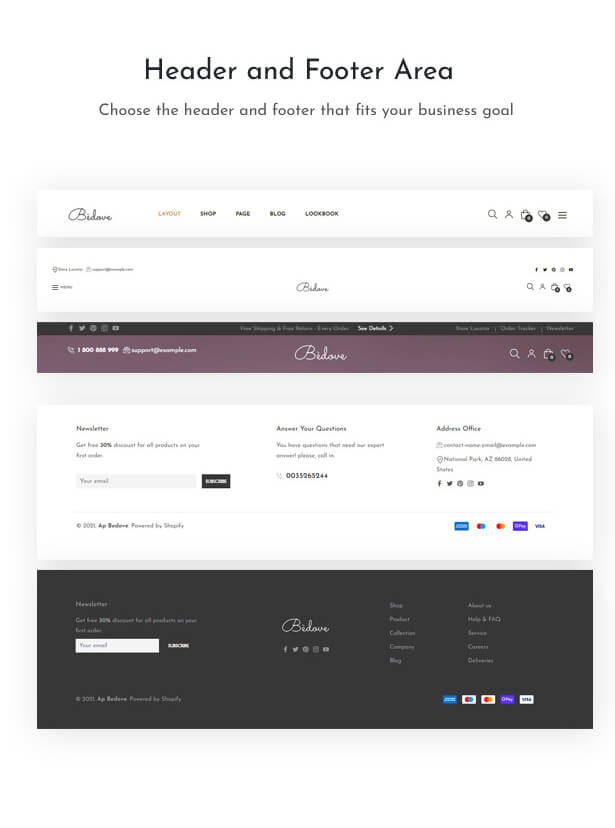 Bedove Wonderful Cosmetics & Spa Shopify Theme Features