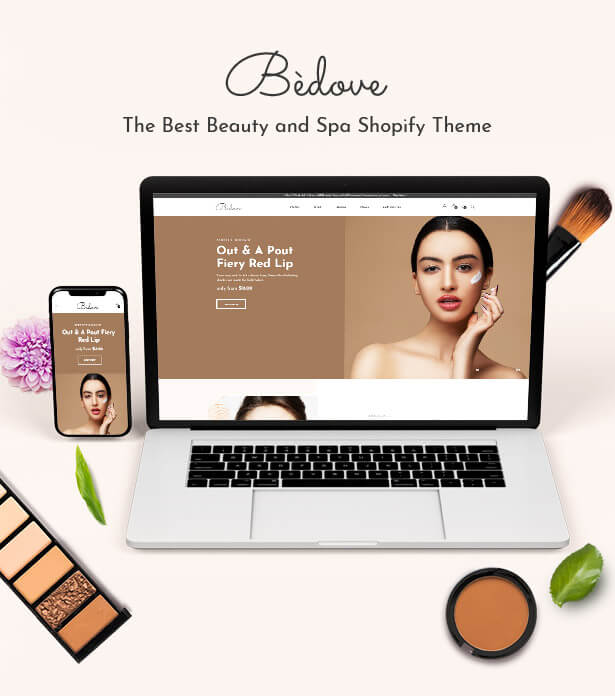 BEDOVE The Best Beauty and Spa Shopify Theme