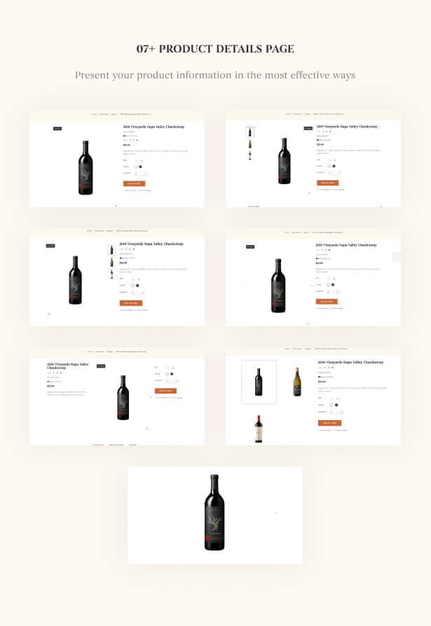 07+ Product Details page