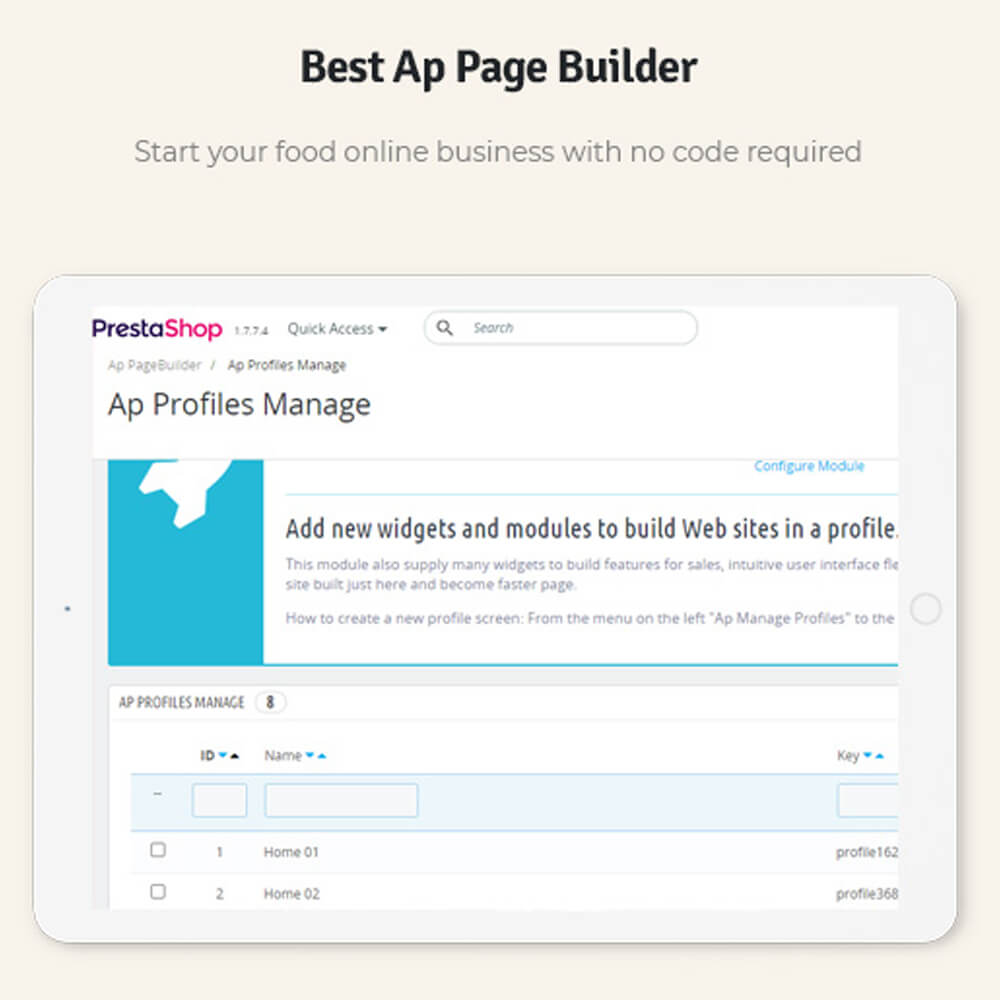 Best Ap Page Builder Start your food online business with no code required