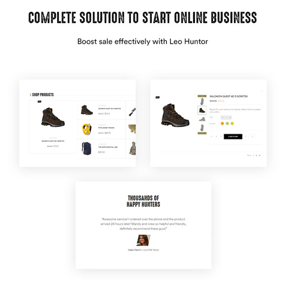 Complete Solution to Start Online BusinessBoost sale effectively with Leo Huntor
