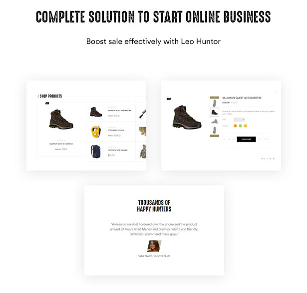 Complete Solution to Start Online Business Boost sale effectively with Leo Huntor