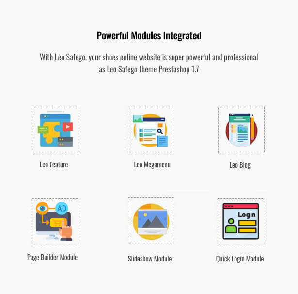 Powerful Modules Integrated