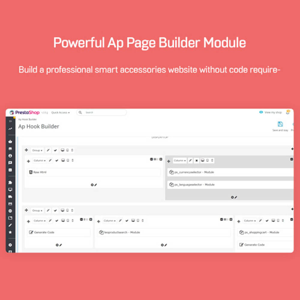 Powerful Ap Page Builder ModuleBuild a professional smart accessories website without code requirement