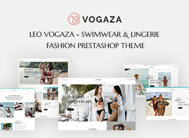 Leo Vogaza - Swimwear & Lingerie Fashion Prestashop Theme