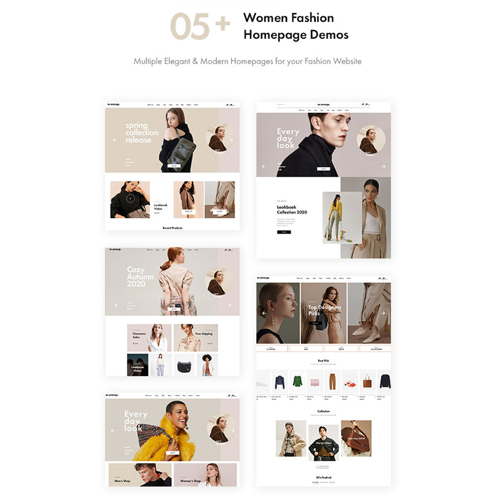 Leo Woncep High-End Women Fashion Prestashop Theme