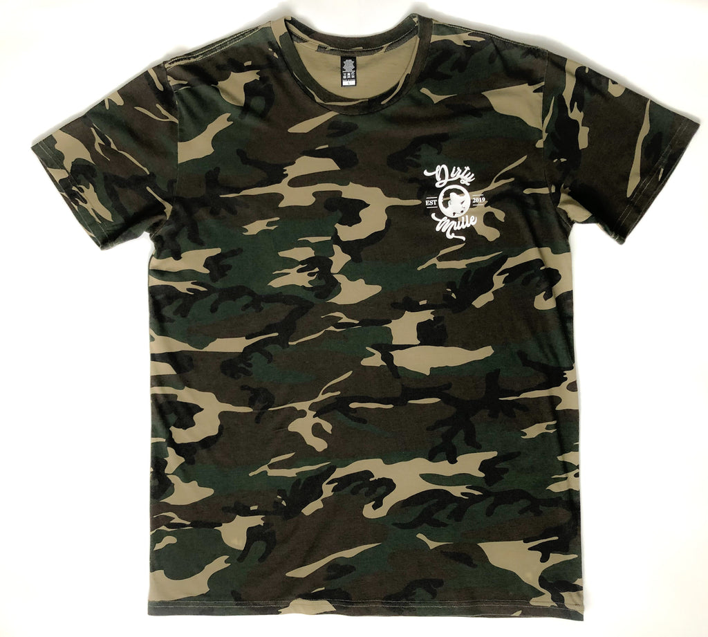 Camo Dirty Mulle Print Tee