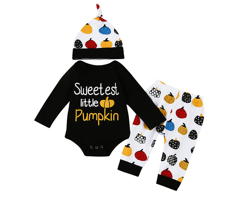 Sweetest Little Pumpkin 3 Piece Set