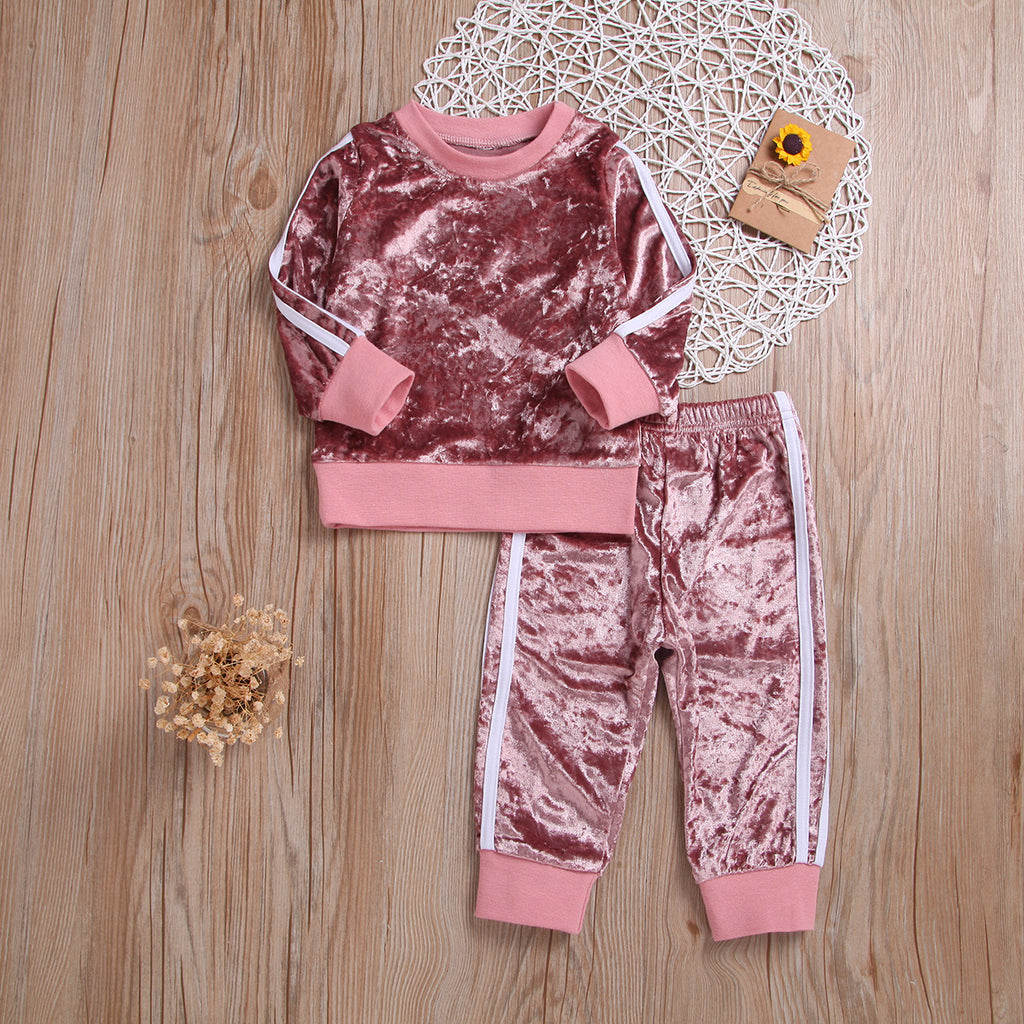 Candy Sweater & Pants Set for Girls
