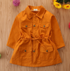 Children's Trendy Trench Coat