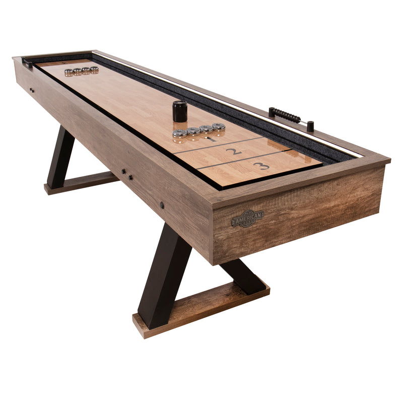 American Legend 9' Kirkwood Shuffleboard Table_1
