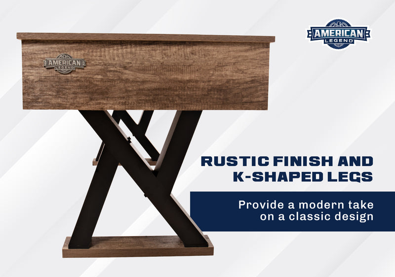 American Legend 9' Kirkwood Shuffleboard Table_6