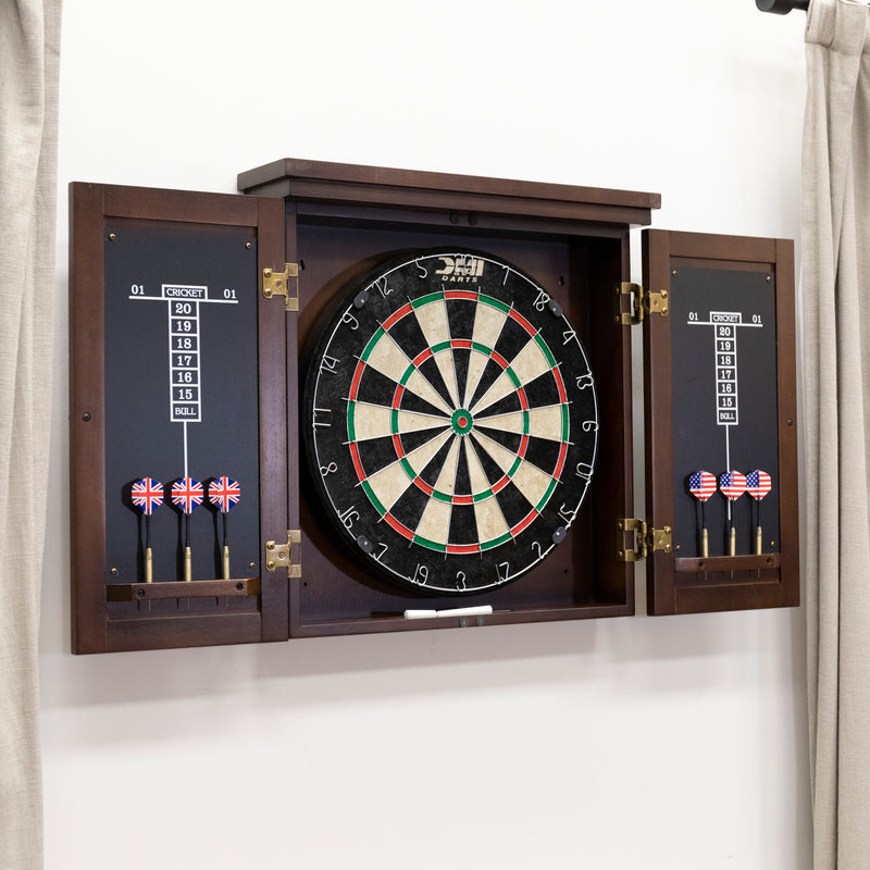 American Legend Traditional Dartboard Cabinet_11