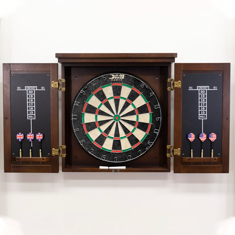 American Legend Traditional Dartboard Cabinet_3
