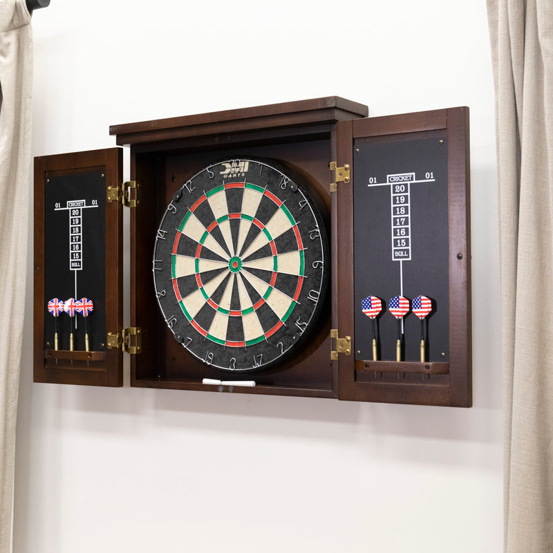American Legend Traditional Dartboard Cabinet_9
