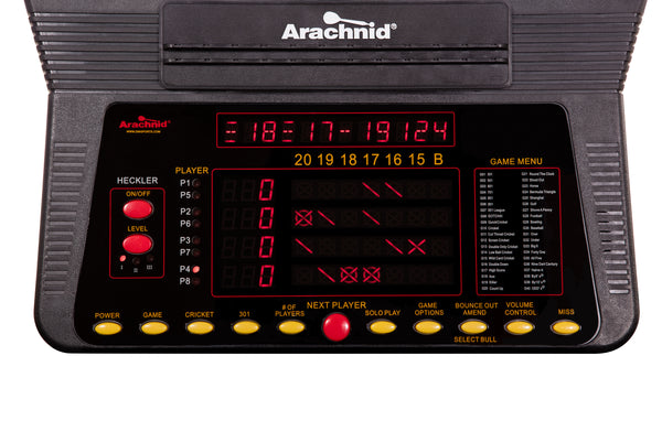 Arachnid Cricket Pro 800 Electronic Dartboard_2