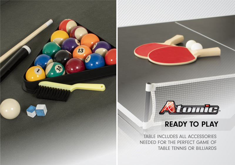 Atomic Hampton 3 In 1 Pool/Table Tennis Dining Table_4