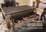Atomic Hampton 3 In 1 Pool/Table Tennis Dining Table_5