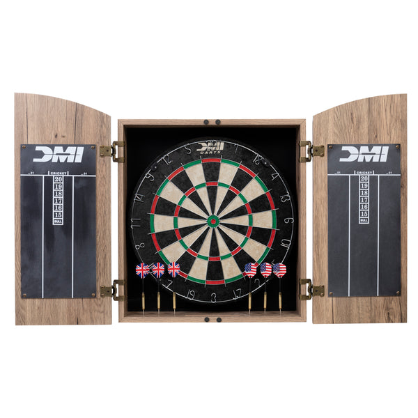 DMI Sports Bristle Dartboard Cabinet Set_1