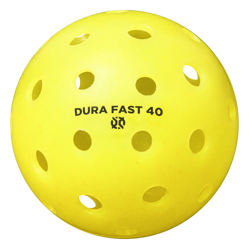 DURA Dura Fast Pickleball - 4 Pack - Yellow_1