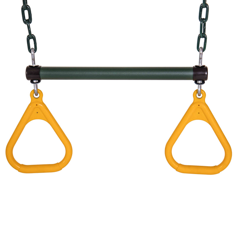"Jack and June Ring Trapeze Bar and Swing - 50"" Chains_1"