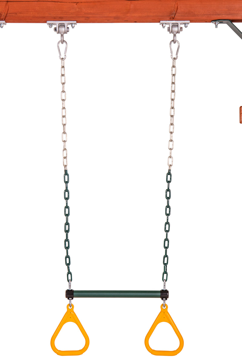 "Jack and June Ring Trapeze Bar and Swing - 50"" Chains_6"