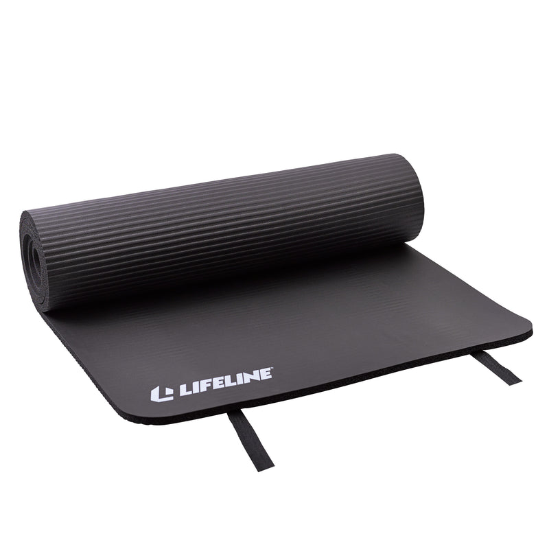 Lifeline Exercise Mat - Black_6