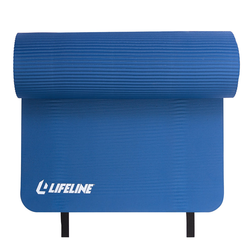 Lifeline Exercise Mat Pro - Blue_2
