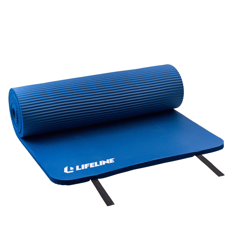 Lifeline Exercise Mat Pro - Blue_4