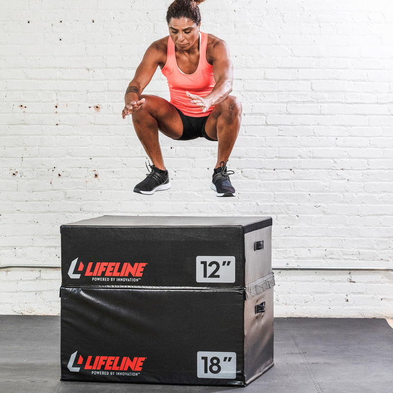 "Lifeline Foam Plyo Box - 6""_10"