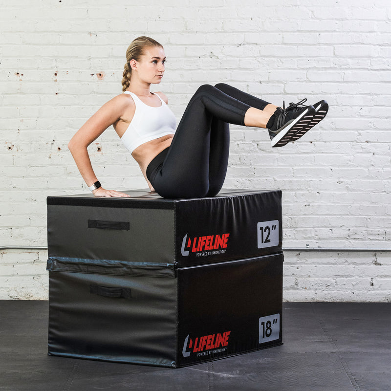 "Lifeline Foam Plyo Box - 6""_9"
